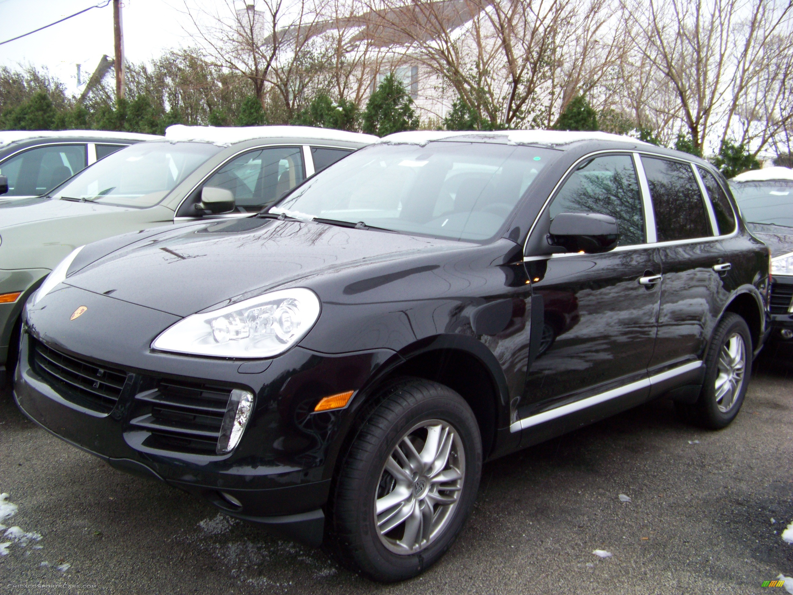 2009 porsche cayenne tiptronic in basalt black metallic a06242 cars. Black Bedroom Furniture Sets. Home Design Ideas