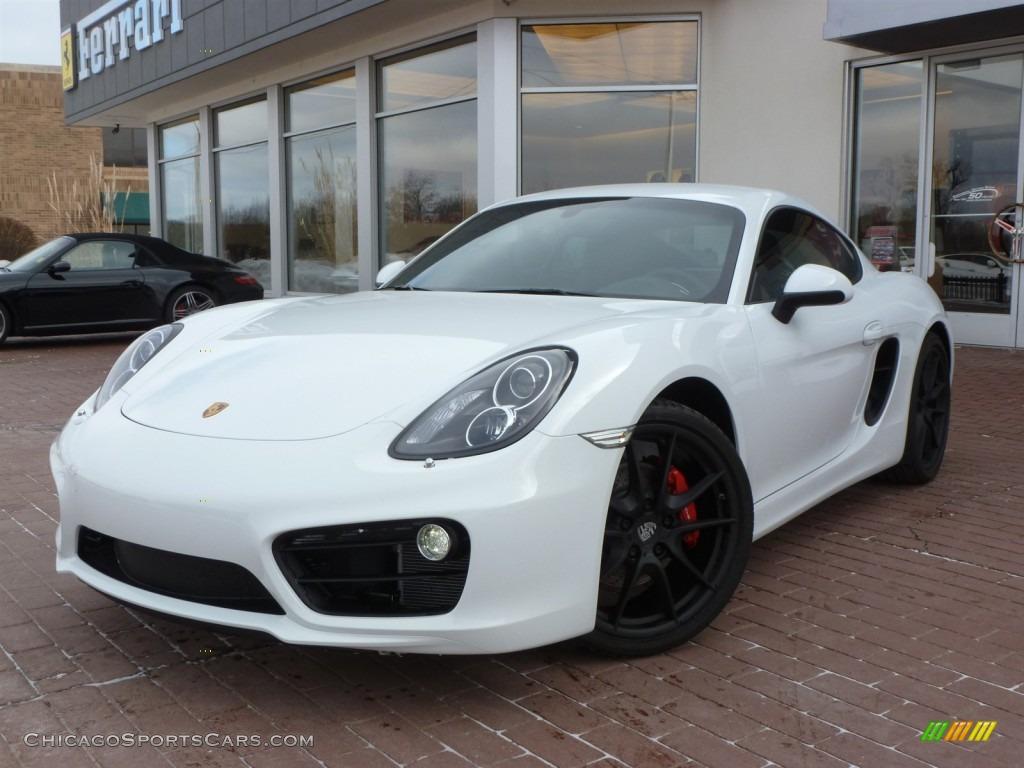 2014 porsche cayman s in white 191332 cars for sale in illinois. Black Bedroom Furniture Sets. Home Design Ideas