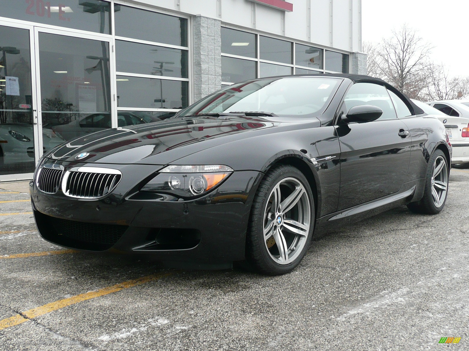 2007 bmw m6 convertible in black 532204 cars for sale in illinois. Black Bedroom Furniture Sets. Home Design Ideas