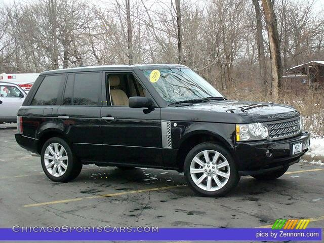 2006 land rover range rover supercharged in java black pearl 205869. Black Bedroom Furniture Sets. Home Design Ideas