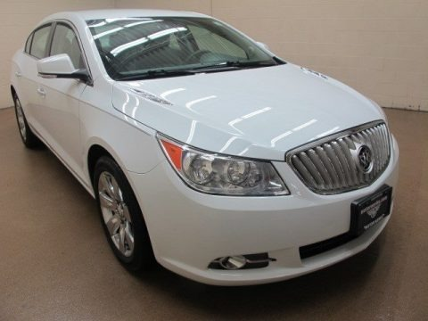 Summit White 2010 Buick LaCrosse CXL