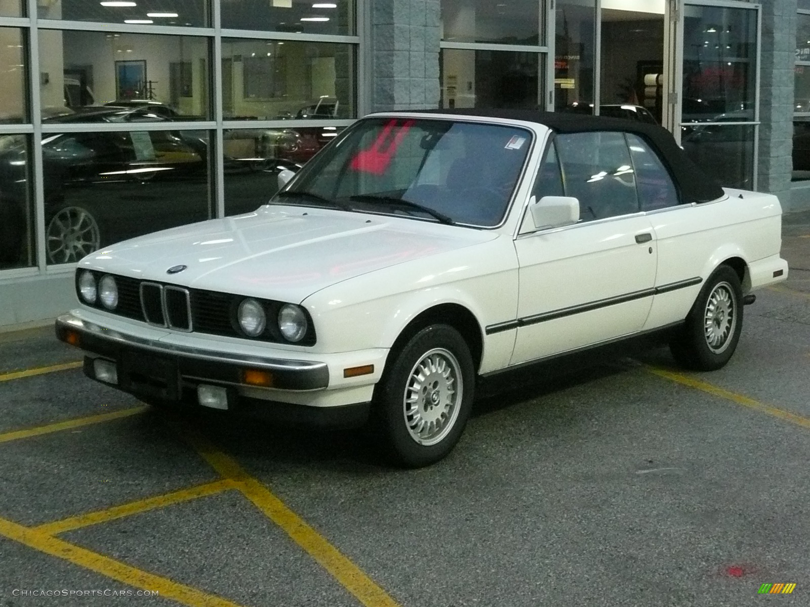 1990 BMW 3 Series 325Ci Convertible in White - C21085 ...