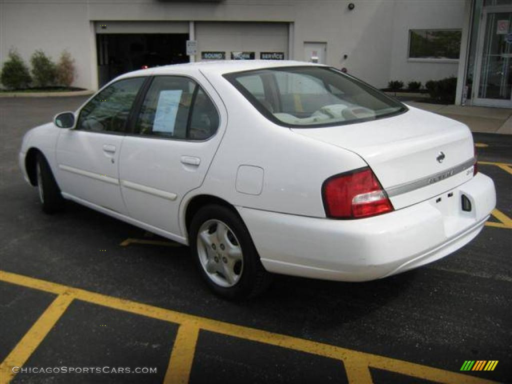 2000 Nissan Altima Gxe In Cloud White Photo 3 209900 Chicagosportscars Com Cars For Sale