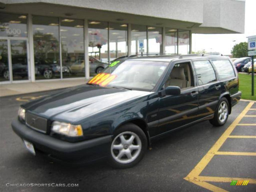 1995 Volvo 850 Glt Wagon In Emerald Green Pearl Metallic 115648 Chicagosportscars Com Cars