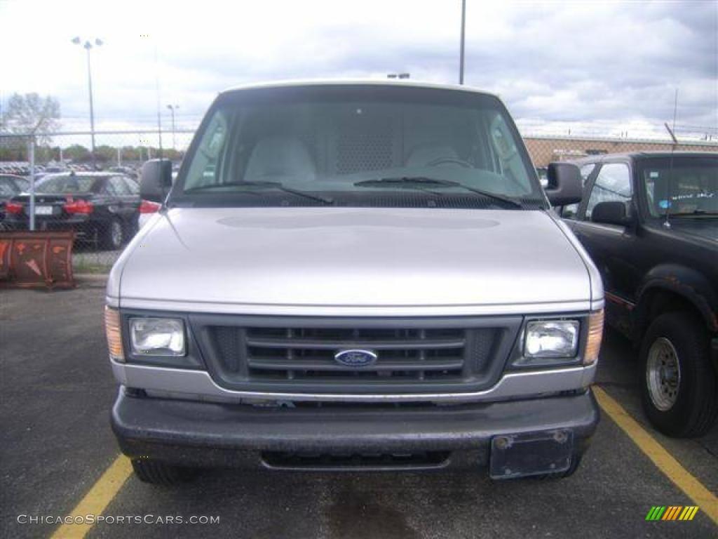2003 Ford E Series Van E150 Commercial In Silver Birch Metallic A20967 Chicagosportscars Com