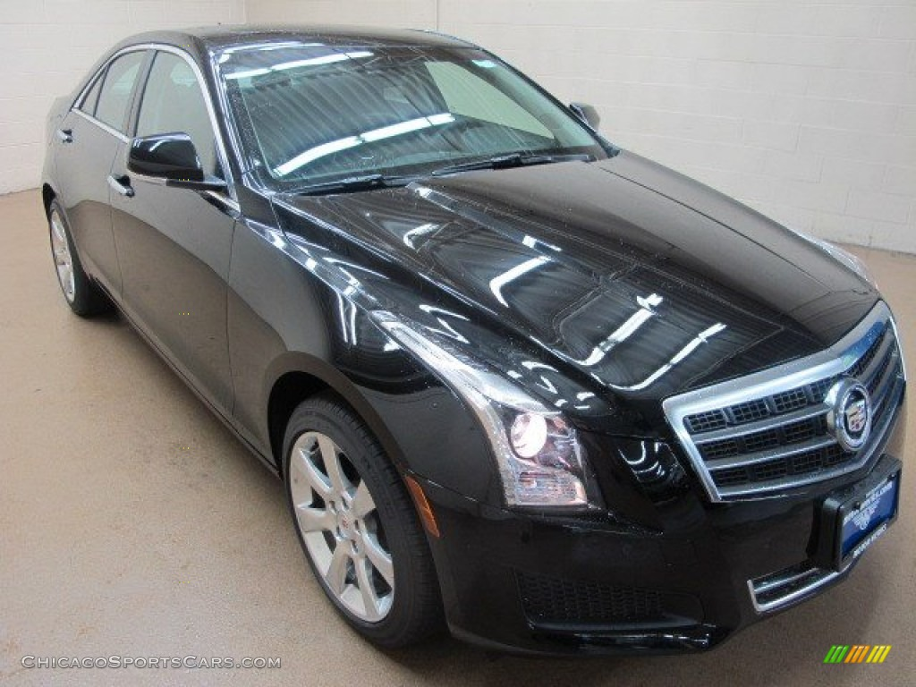 2014 cadillac ats 2 0l turbo awd in black raven 188700 cars for sale. Black Bedroom Furniture Sets. Home Design Ideas