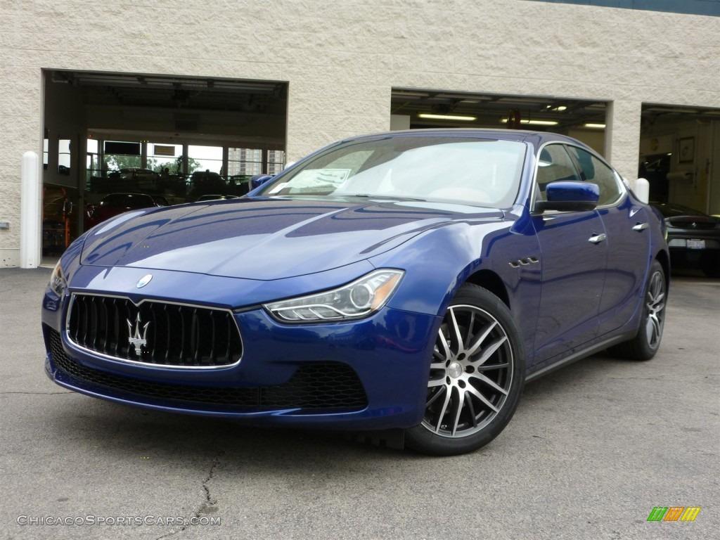 2014 Maserati Ghibli In Blu Emozione Blue 127105