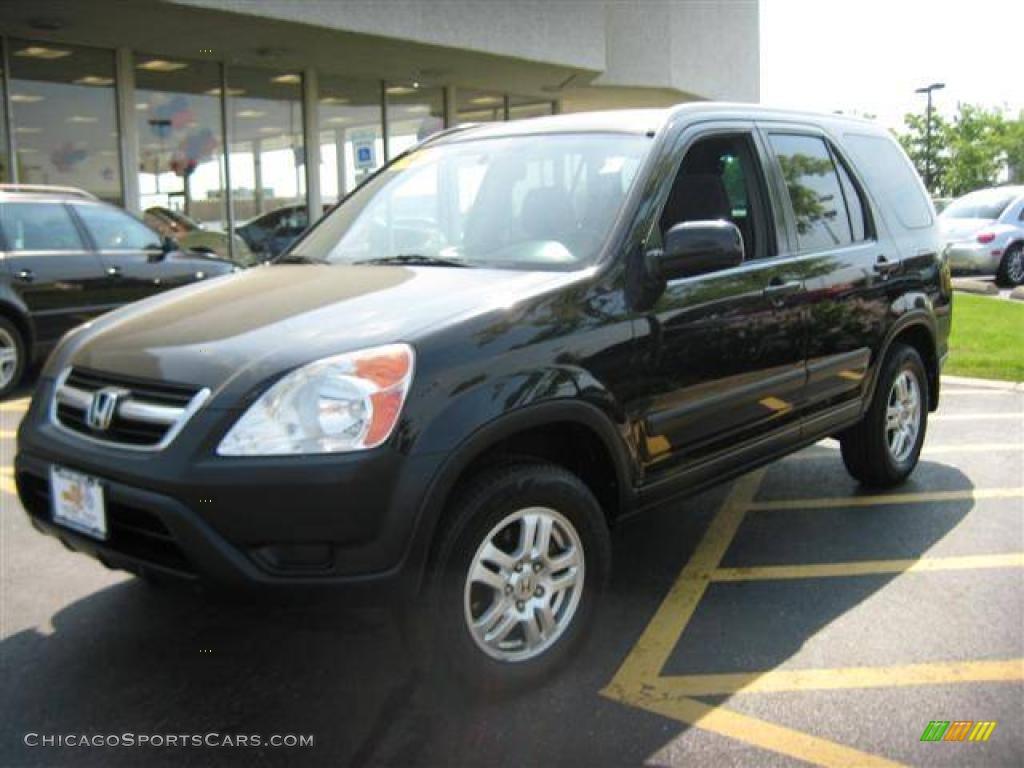 2003 Honda Cr V Ex 4wd In Nighthawk Black Pearl 123341 Chicagosportscars Com Cars For Sale