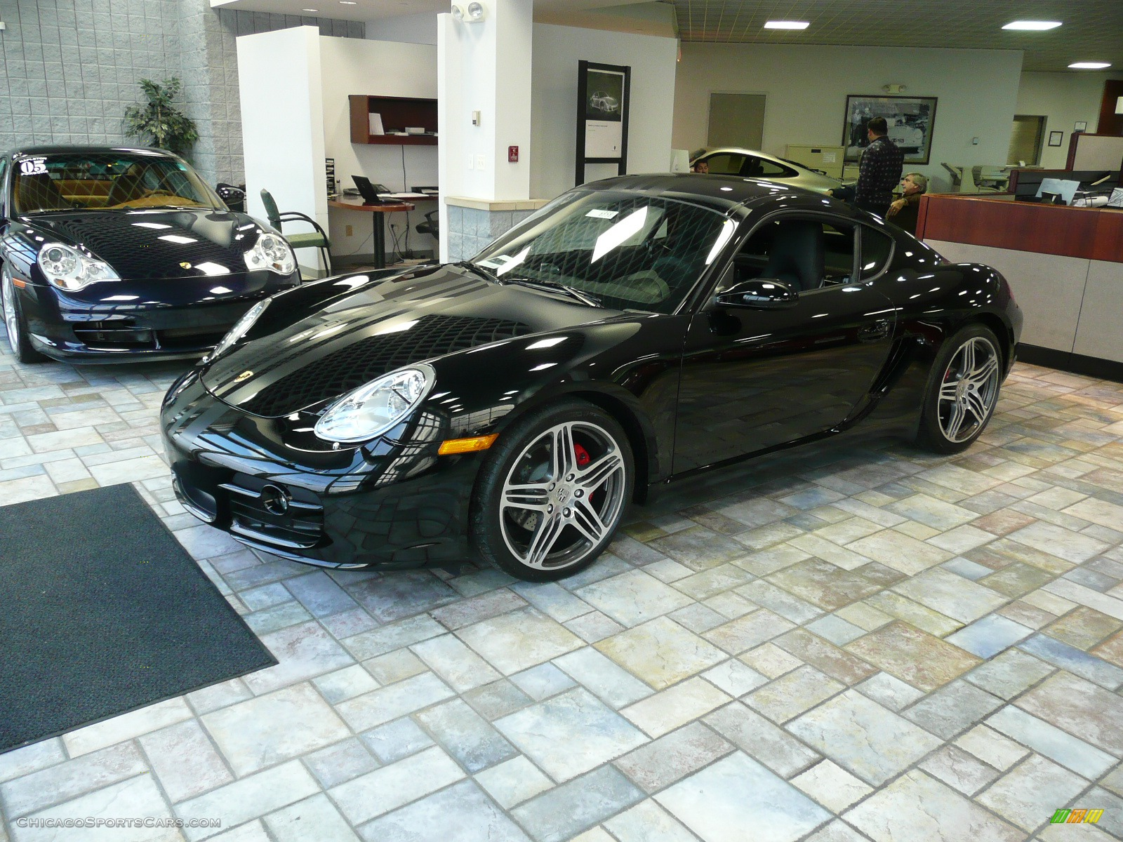 Cayman Black Black / Black Porsche Cayman s